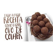 OVO DE CHOCOLATE COM RECHEIO DATA:26/03/19 HORÁRIO: 14:00