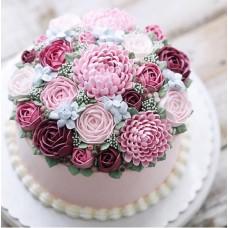 BOLO FLOWERS CAKE- ARCOLOR- DATA:30.08.2017 HRS.: 13.30