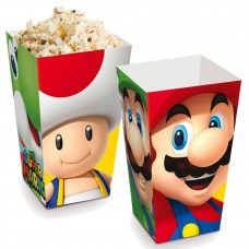 Cromus Super Mario Bros - Caixa para Pipoca 10 unidades